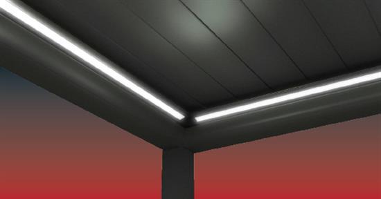 Umlaufender LED Beleuchtung