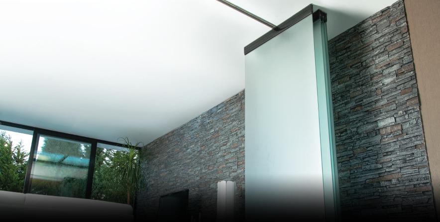 Bild von Horizontale Glasschiebewand