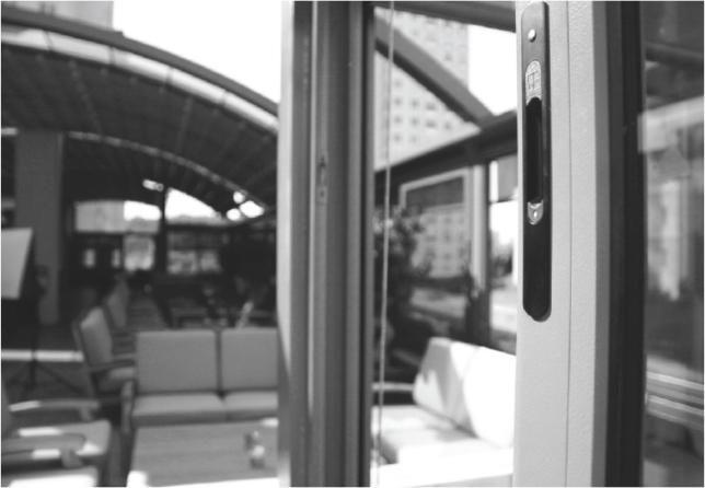 Bild von Doppelglasschiebetür