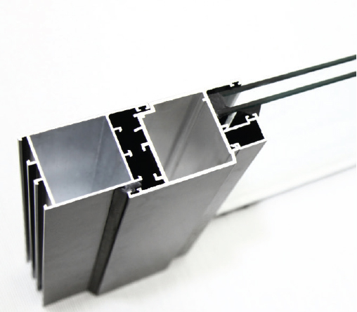 Bild von Aluminiumglastür